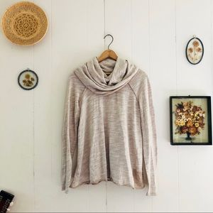 Free People Beach • Cowl Neck Slouchy Pullover